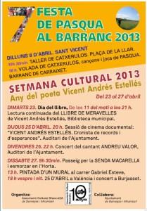 macarella setmana cultural 2013