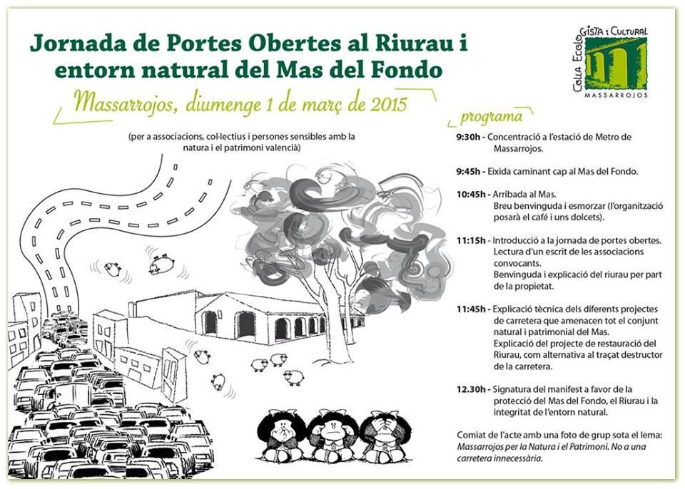 jornada de portes obertes al RiuRau