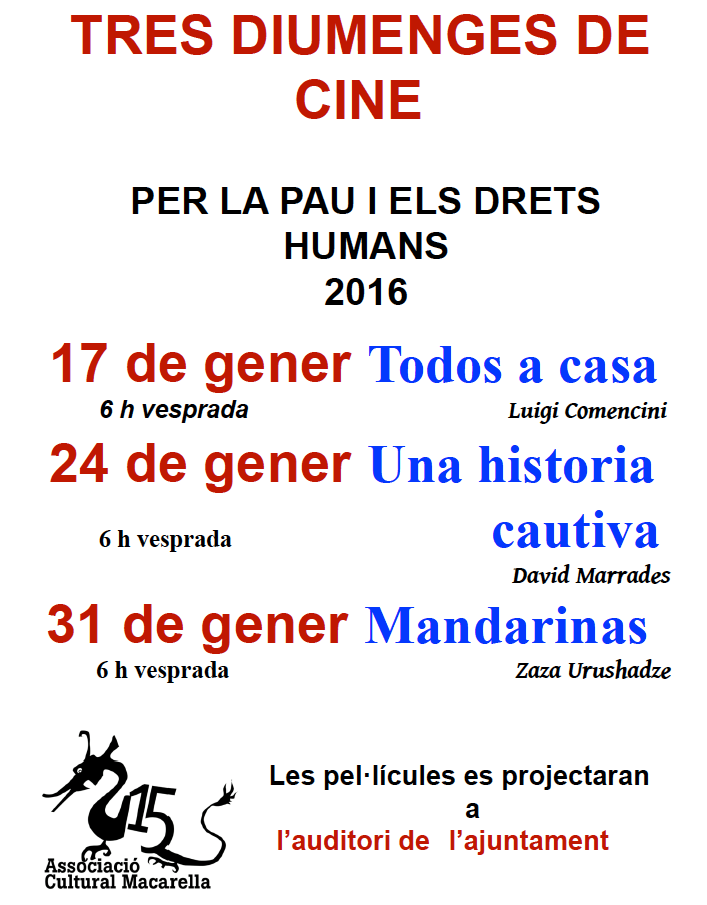 cinema per la pau 2016
